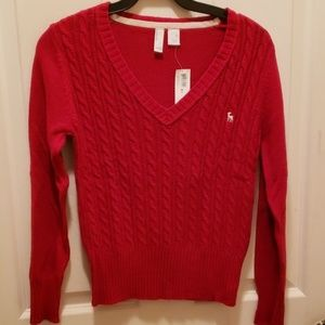 NWT Dark Red Sweater